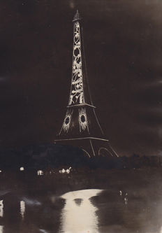 Unknown/WWP/Cleveland Press - Eiffel Tower, 1925/1962