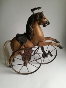 Beautifully Decorated Tricycle Horse