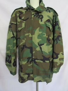 U.S. Army camouflage winter jacket + lining