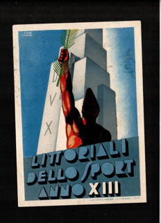 Italy - 1930/40 - 12 War propaganda postcards, fascism