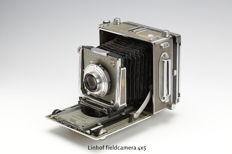 Linhof Super Technika IV field camera 4x5 inch (1963 - 1976) Serial N°: 62847