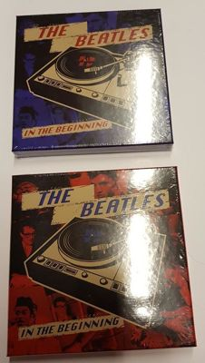 Two colour vinyl boxsets of early Beatles