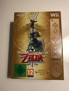 Wii - The Legend of Zelda Skyward Sword - Limited Edition Pack, incl. Special Wii remote plus, Cd soundtrack and Operations Guide.