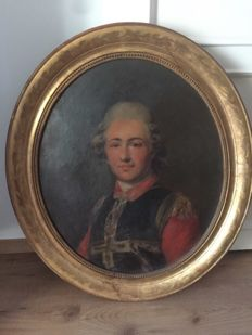 French School 19th c. - Portrait of a frean noble