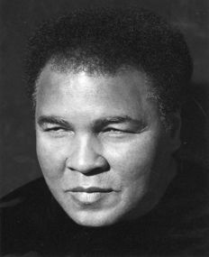 Herb Ritts (1952-2002)/Scott Downie - Muhammad Ali , Los Angeles 2000 and 1989