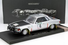 Minichamps - Scale 1/18 - Mercedes-Benz 450 SLC 5.0 Winner Rally Bandama 1979