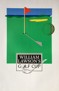 Anonymous - William Lawson's Golf Cup - Circa 1980
