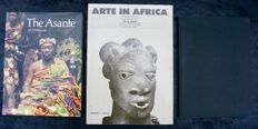 Art in Africa of Ezio Bassani  - 1984 - .OE  English  & French  -  African Miniatures The Goldweights of the Ashanti of Margaret Webster   - 1967  -  OE  - English - The Asanté of M.D. McLeod -1981 - OE - English