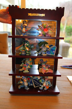 Franklin Mint Mood Dragons of the Month