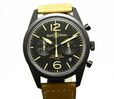 Bell & Ross - Vintage Collection Heritage - Chronograph - BRV126-BS-ST/SF - Full set 2014