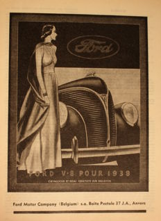Lot van Ford advertenties (>75) van 1933-1959