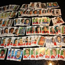 Panini - UEFA Champions League 1999 / 2000 - 163 different stickers with original backs