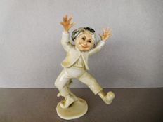 Karl Ens Art Deco comical male statuette