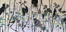 Hand painted ink Chinese painting made after Wu Guanzhong - China - late 20th century