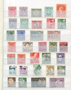 The Netherlands 1907/1972 - Selection stamps and series in small stock book
