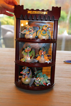 Franklin Mint Baby Mood Dragons complete collectie