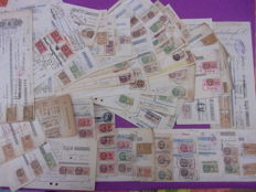 France - Lot of tax stamps