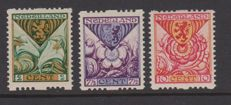 The Netherlands 1925 – with syncopated perforation, Child – NVPH R71/R73