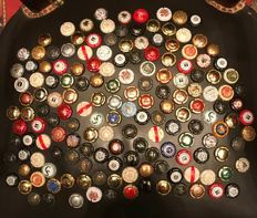 Collection of more 150 Champagne and Cava taps from years 1970