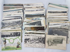 Germany - WW1 - 1880`s to 1913, batch 180 military postcard and real photos collection