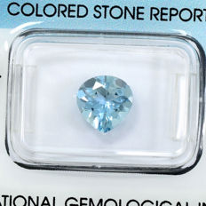 Aquamarin - 1.62 ct