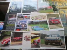 Car books (Jaguar/Rolls Rolls/miscellaneous), Jaguar tie pin and others (seven items)