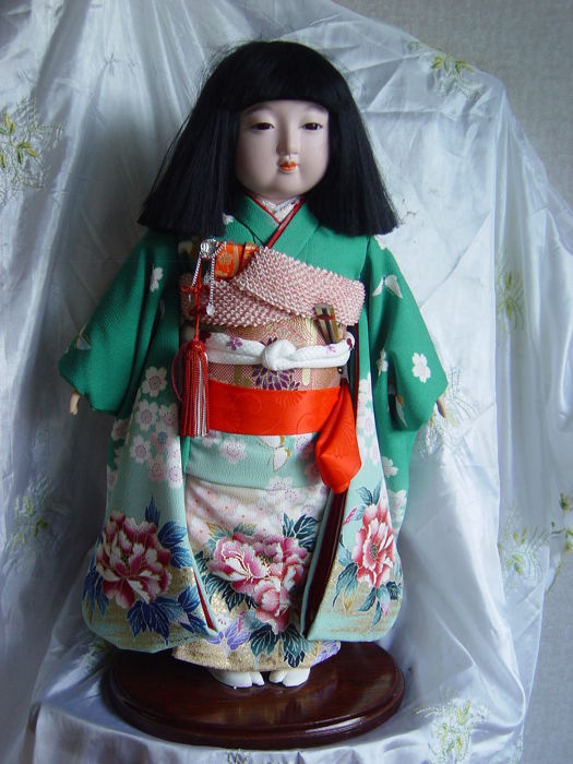 An Ichimatsu doll - Japan - second half 20th century
