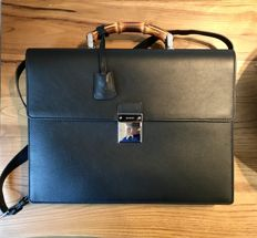 Gucci - 24h Bamboo Small Suitcase