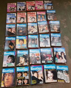 The complete set of Beatles monthly magazines : all 349 Magazines
