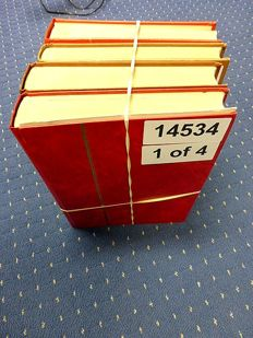 GDR of East Germany + Germany Federal Republic 1950/80 - Batch in 4 thick stock books.