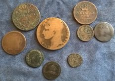 Italy - Lot of 68 coins, 18th–20th century