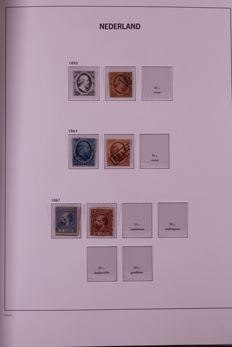 Netherlands 1852/2000 - Collection in 4 Davo LX print albums