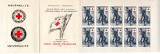 France 1955 – Red Cross booklet