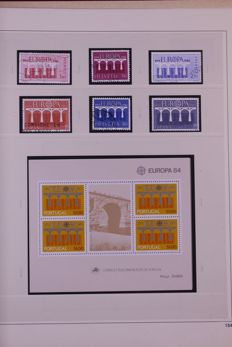 Europa Stamps 1974/1997 - Collection in 5 Safe Dual preprint albums
