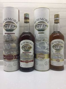 2 Bottles - Bowmore Surf & Bowmore Cask Strength