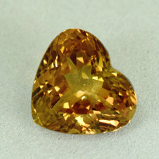 Champagne Topaz - 11.94 ct - No Reserve Price