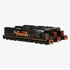 Athearn H0 - 4553/4553/4503 - Three-part Diesel locomotive SD4OT-2 of the D & R G