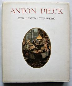Anton Pieck; Lot with 8 books illustrated by him - 1978 / 1987
