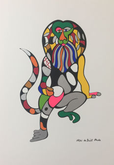 Niki de Saint Phalle (after) - Lion