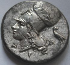 Greek Antiquity - Corinth 350-306  BC. AR Stater