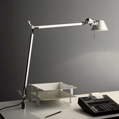 Giancarlo Fassina and Michele de Lucchi for Artemide - Tolomeo desk lamp with fixed desk support