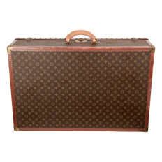 Louis Vuitton - Vintage Monogram Alzer 80 Travel Bag / Trunk