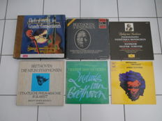 2 boxes 6 records Beethoven - 3 LPs Beethoven - 1 Box  Great compositors