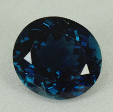 London Blue Topaz - 14.04 ct