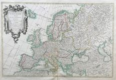 Europe; Jean / Robert Janvier - L'  EUROPE (..) - ca. 1762
