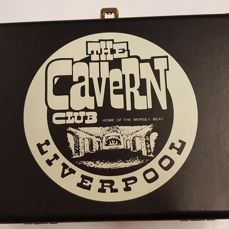 The Cavern Beatles records player in the Original box
