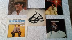 A great rock 'n roll lot by, Buddy Holly, Elvis, the Everly Brothers, Fats Domino and 1 compilation album. In Total 9 LP's and 5 doublealbums.