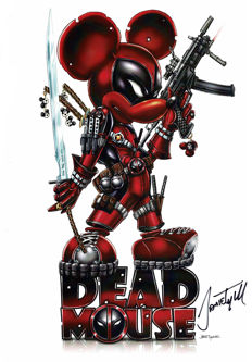 Dead Mouse - Signed Limited Edition Poster - Jamie Tyndall