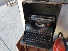 Hermes Media typewriter.