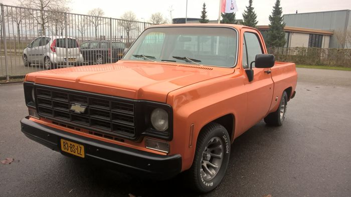 Chevrolet - camioncino C10 pick-up - 1978